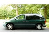 1999 Chrysler Town & Country Forest Green Pearl