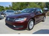 2014 Opera Red Metallic Volkswagen Passat 2.5L Wolfsburg Edition #85230909