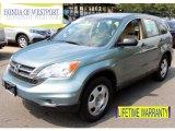 2010 Opal Sage Metallic Honda CR-V LX AWD #85230838