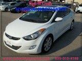 2013 Shimmering White Hyundai Elantra Limited #85230802