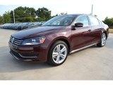 2014 Volkswagen Passat Opera Red Metallic