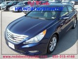 2013 Indigo Night Blue Hyundai Sonata Limited #85230799