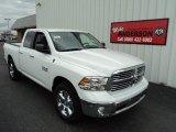 2014 Bright White Ram 1500 Big Horn Quad Cab 4x4 #85231009