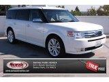 2010 White Platinum Tri-Coat Metallic Ford Flex Limited #85230867