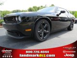 2013 Pitch Black Dodge Challenger R/T Blacktop #85230863