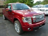 2013 Ruby Red Metallic Ford F150 Limited SuperCrew 4x4 #85230861