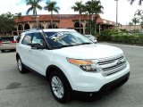 2013 Oxford White Ford Explorer XLT #85230853