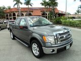 2011 Sterling Grey Metallic Ford F150 Lariat SuperCrew #85230850