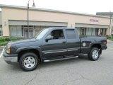 2004 Dark Gray Metallic Chevrolet Silverado 1500 Z71 Extended Cab 4x4 #85230962