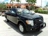 2010 Tuxedo Black Ford F150 STX SuperCab #85230847