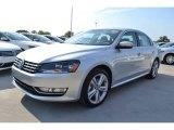 2014 Reflex Silver Metallic Volkswagen Passat 1.8T SEL Premium #85230917