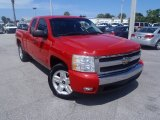 2008 Victory Red Chevrolet Silverado 1500 LT Extended Cab 4x4 #85270008