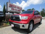 Radiant Red Toyota Tundra in 2013