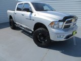 2012 Bright Silver Metallic Dodge Ram 1500 Lone Star Crew Cab 4x4 #85269722