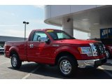 2010 Vermillion Red Ford F150 XL Regular Cab #85269637