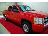2009 Victory Red Chevrolet Silverado 1500 LT Crew Cab 4x4 #85269634