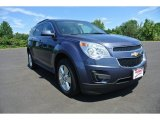 2013 Atlantis Blue Metallic Chevrolet Equinox LT #85269825