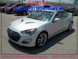 2013 Platinum Metallic Hyundai Genesis Coupe 3.8 Track #85269565