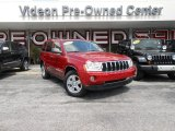 2006 Inferno Red Crystal Pearl Jeep Grand Cherokee Limited 4x4 #85269964