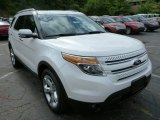 2014 White Platinum Ford Explorer Limited 4WD #85269624
