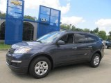 2013 Atlantis Blue Metallic Chevrolet Traverse LS AWD #85269617