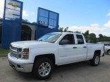 2014 Summit White Chevrolet Silverado 1500 LT Double Cab 4x4 #85269616
