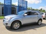 2014 Silver Topaz Metallic Chevrolet Equinox LT AWD #85269615