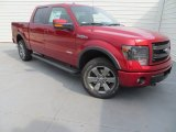2013 Ruby Red Metallic Ford F150 FX4 SuperCrew 4x4 #85269697