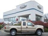 2012 Pale Adobe Metallic Ford F250 Super Duty XLT SuperCab 4x4 #85309716