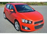 2013 Chevrolet Sonic LTZ Hatch Data, Info and Specs