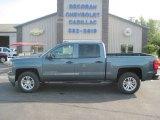2014 Blue Granite Metallic Chevrolet Silverado 1500 LT Crew Cab 4x4 #85310412