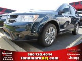 2014 Fathom Blue Pearl Dodge Journey Limited #85309900