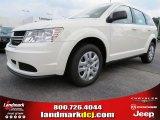 2014 White Dodge Journey Amercian Value Package #85309898