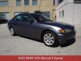 2002 Grey Green Metallic BMW 3 Series 325i Sedan #85310008