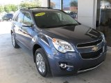 2014 Atlantis Blue Metallic Chevrolet Equinox LTZ #85310398