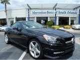 2014 Black Mercedes-Benz SLK 350 Roadster #85309696
