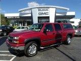 2006 Sport Red Metallic Chevrolet Silverado 1500 Z71 Crew Cab 4x4 #85309998