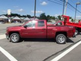 2014 Deep Ruby Metallic Chevrolet Silverado 1500 LT Double Cab 4x4 #85310377