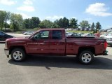 2014 Deep Ruby Metallic Chevrolet Silverado 1500 LTZ Z71 Double Cab 4x4 #85310376