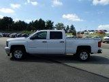 2014 Summit White Chevrolet Silverado 1500 LT Crew Cab 4x4 #85310373