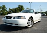 2003 Oxford White Ford Mustang V6 Convertible #85310181
