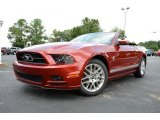 2014 Ruby Red Ford Mustang V6 Premium Convertible #85310166