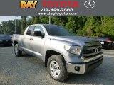 2014 Silver Sky Metallic Toyota Tundra SR5 Double Cab 4x4 #85309742