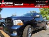 2012 True Blue Pearl Dodge Ram 1500 Express Quad Cab #85309927