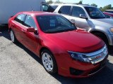 2010 Sangria Red Metallic Ford Fusion SE V6 #85309725