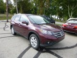 2014 Basque Red Pearl II Honda CR-V EX AWD #85310248