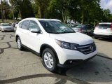 2014 White Diamond Pearl Honda CR-V EX-L AWD #85310247