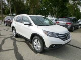 2014 White Diamond Pearl Honda CR-V EX-L AWD #85310246