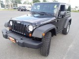 2012 Black Jeep Wrangler Rubicon 4X4 #85309661