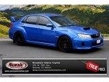 2012 WR Blue Mica Subaru Impreza WRX STi 4 Door #85309656